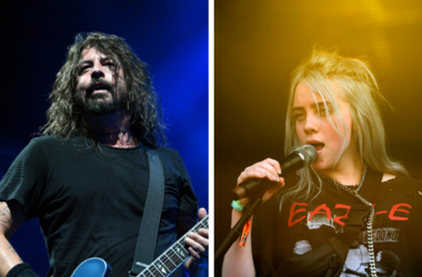 Dave Grohl and Billie Eilish
