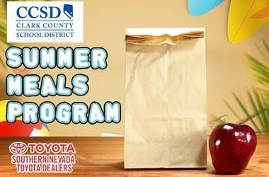 CCSD's Summer Meals Program