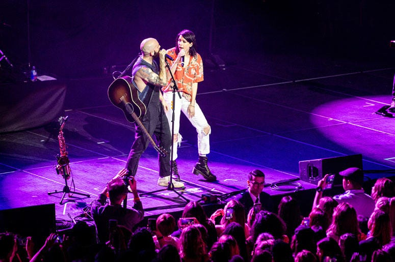 X Ambassadors let it fly at OBC 2019