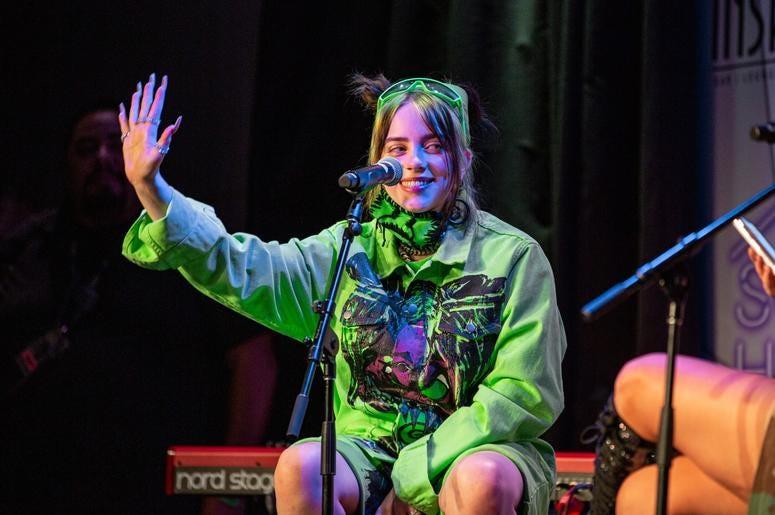 Billie Eilish On Stage19 Photos Courtesy Of Key Lime Photography