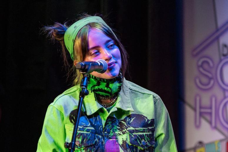 Billie Eilish On Stage2 Photos Courtesy Of Key Lime Photography