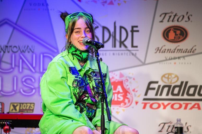Billie Eilish On Stage21 Photos Courtesy Of Key Lime Photography