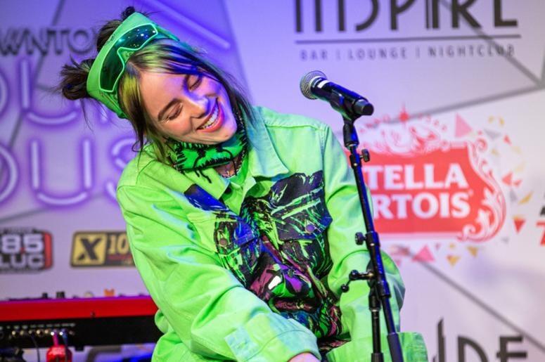 Billie Eilish On Stage23 Photos Courtesy Of Key Lime Photography