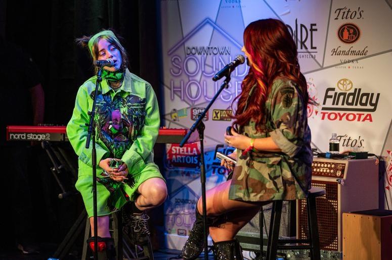 Billie Eilish On Stage3 Photos Courtesy Of Key Lime Photography