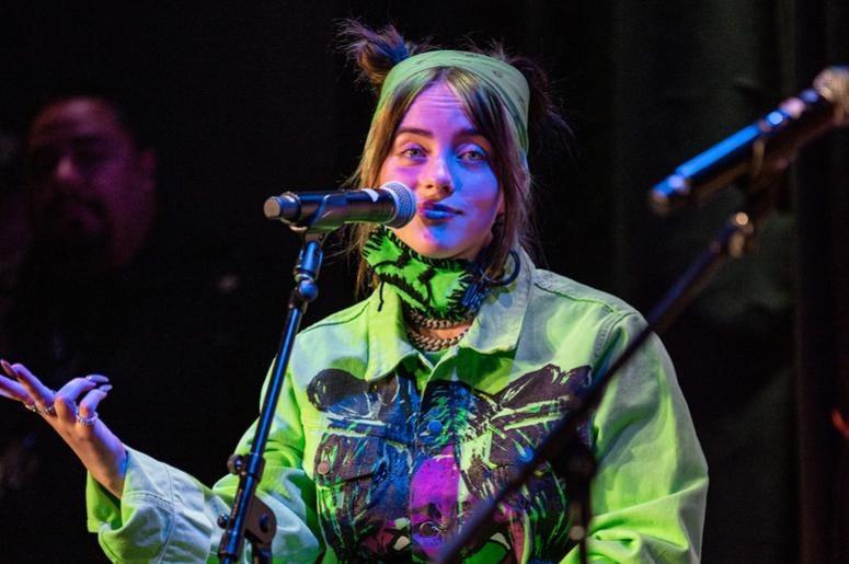 Billie Eilish On Stage6 Photos Courtesy Of Key Lime Photography