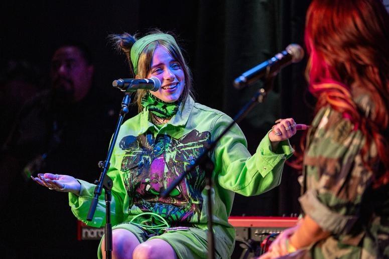 Billie Eilish On Stage8 Photos Courtesy Of Key Lime Photography