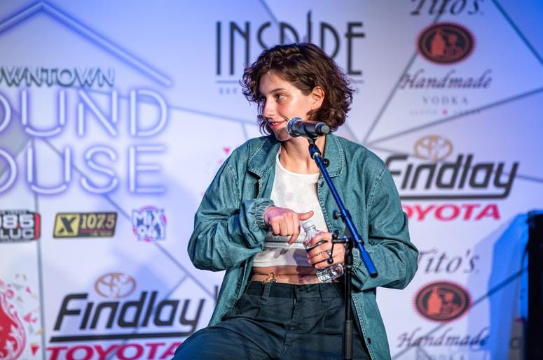 King Princess SH On Stage Photos Courtesy Of Key Lime Photography