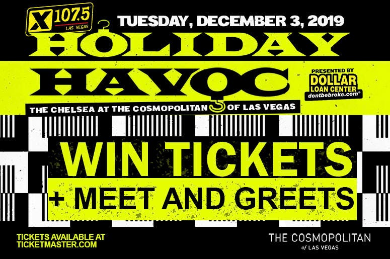 holiday havoc Win Tickets and M&G