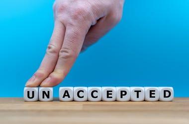 unaccepted