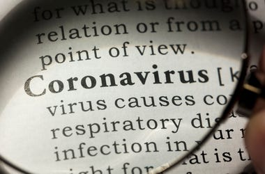 coronavirus dictionary