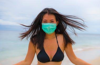 bikini face mask