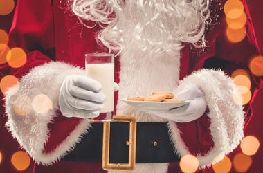 Santa and Cookies