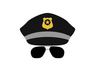 mustache cop