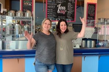 Jill Devine and Darla Crask of Ices Plain & Fancy