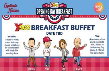 opening day breakfast