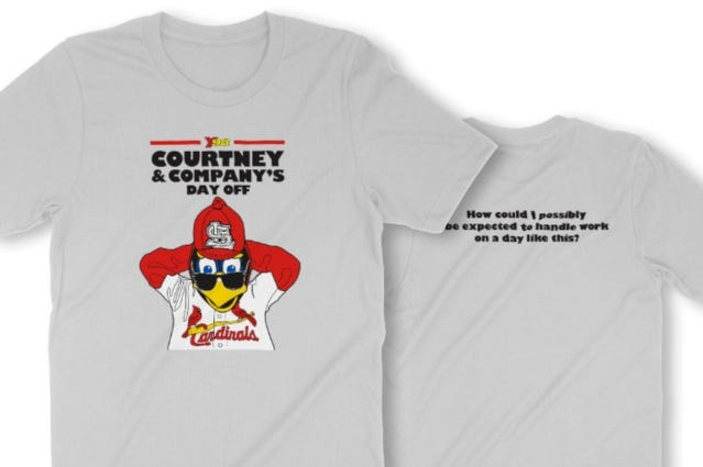 Courtney & Co. Day Off event with St. Louis Cardinals