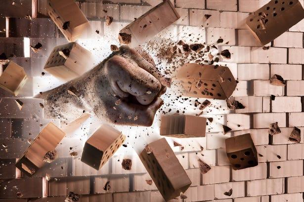 Watch: Could The Kool-Aid Man Break Through A Wall?   Y98 Hey Kool Aid Videos Breaking Through Walls