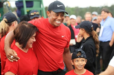 Tiger Woods and Son