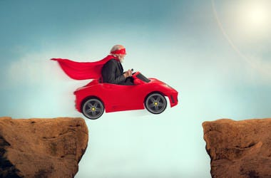 car jumping prize