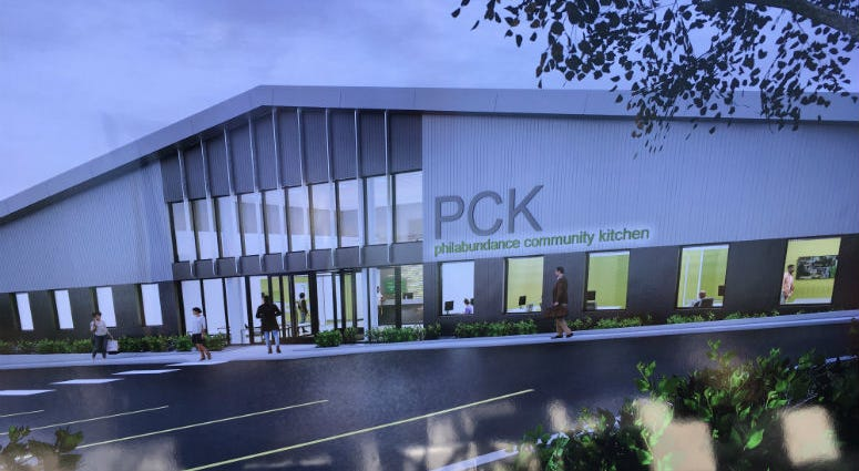 Construction is underway on a new, larger facility for a job training program run by Philabundance.