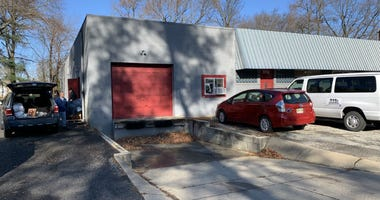 Cherry Hill Food Pantry's new location on Beechwood Avenue.