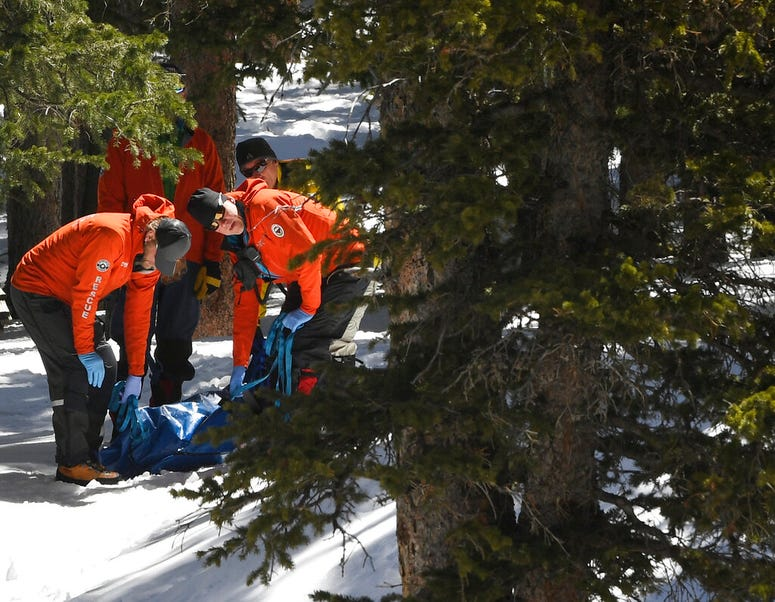 Members of an Alpine Rescue Team