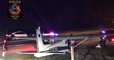 Emergency landing in Berks County