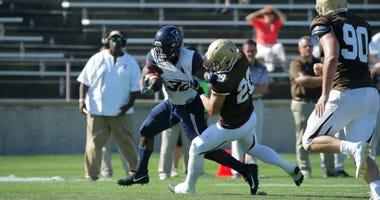 Penn junior running back Karekin Brooks rushed for 268 yards in last year's win at Lehigh.