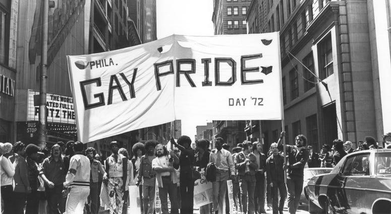 1972 Philadelphia Gay Pride march