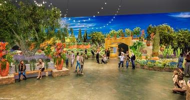 2020 Flower Show Entrance Garden