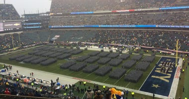 The 120th Army-Navy Game was played in Philadelphia on Saturday.