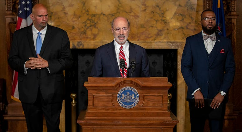 Gov. Wolf, Lt. Gov, Pardons Board Provide Update on Pardons Process, Benefit to Those with Marijuana Convictions.