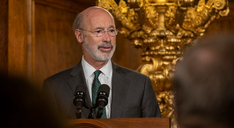 Gov. Tom Wolf speaking.