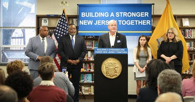 Governor Phil Murphy announces new initiatives to support youth mental health in Maple Shade on February 11, 2020.