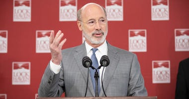 Gov. Tom Wolf visited Lock Haven University to launch a tour of the 14 state-owned universities and discuss his proposal to help thousands of low- and middle-class students afford their dream of a college education.