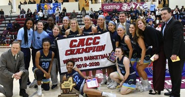 The Jefferson University women's basketball team won the CACC title by beating Holy Family on Sunday, 63-59.