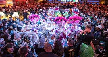 Mummers Mardi Gras