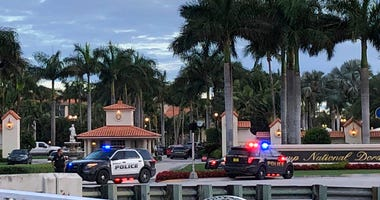 Police respond to The Trump National Doral resort after reports of a shooting inside the resort.