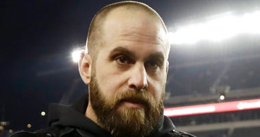 Jon Dorenbos is sharing in the Super Bowl magic despite not playing with the team last season.