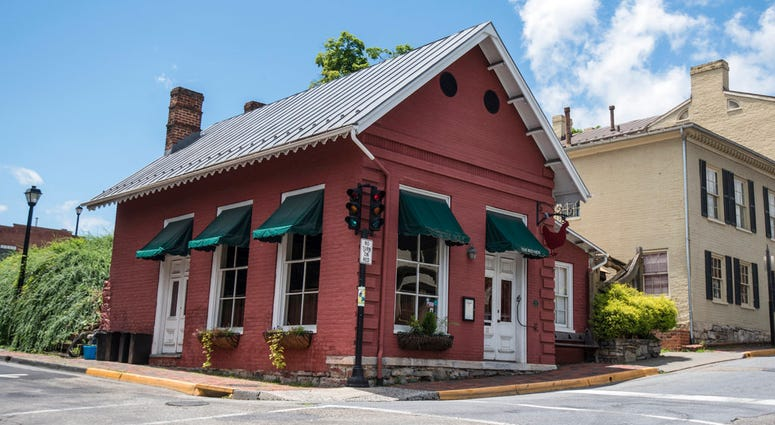White House press secretary Sarah Huckabee Sanders said she was booted from the Red Hen Restaurant in Virginia because she works for President Donald Trump.