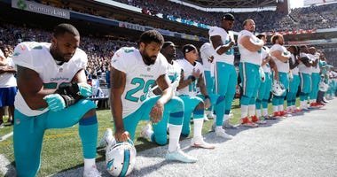 Protests during National Anthem