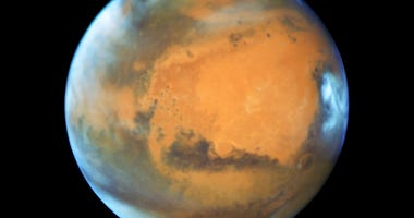 This May 12, 2016 image provided by NASA shows the planet Mars.