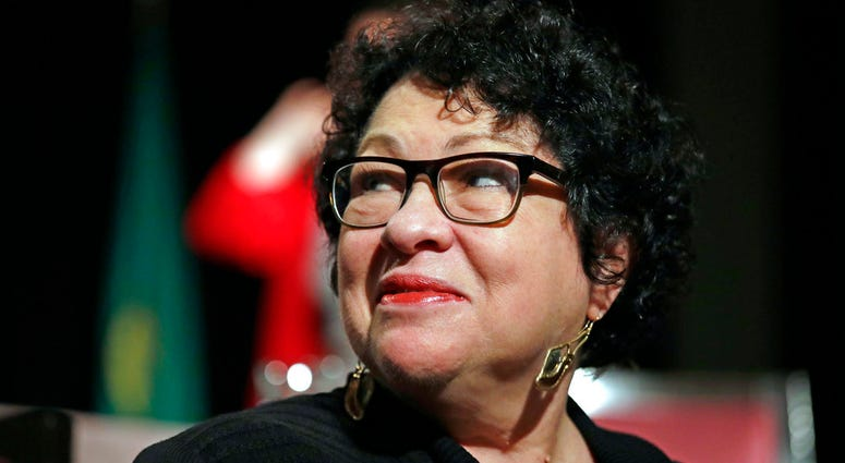 Supreme Court Associate Justice Sonia Sotomayor