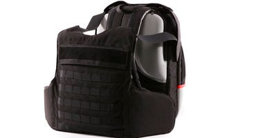 Masada-Armour, an Israeli company, says it has come up with a first-of-its-kind protection gear against the threat of school shootings -- a bulletproof backpack that can transform into a bulletproof vest in less than two seconds.
