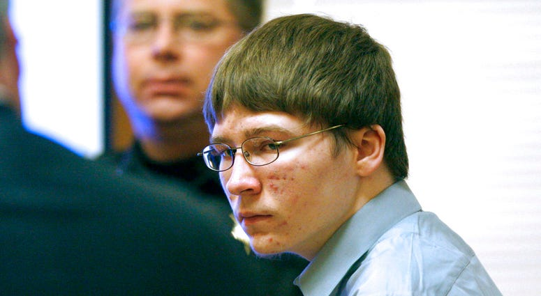 In this April 16, 2007, file photo, Brendan Dassey appears in court at the Manitowoc County Courthouse in Manitowoc, Wis.
