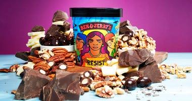 Ben & Jerry's rebranded ice cream flavor Pecan Resist.