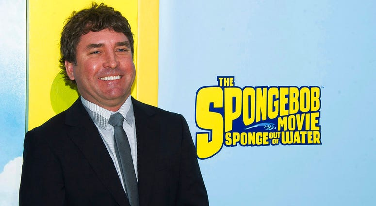 "FILE - In this Jan. 31, 2015 file photo, SpongeBob SquarePants creator Stephen Hillenburg attends the world premiere of ""The SpongeBob Movie: Sponge Out Of Water"" in New York."