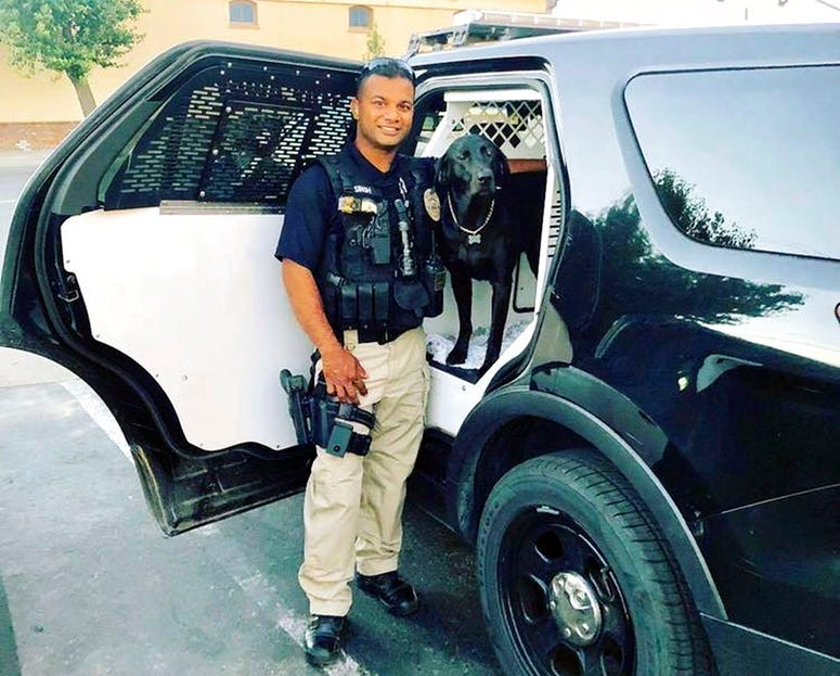 Officer Ronil Singh of Newman Police Department who was killed by an unidentified suspect.