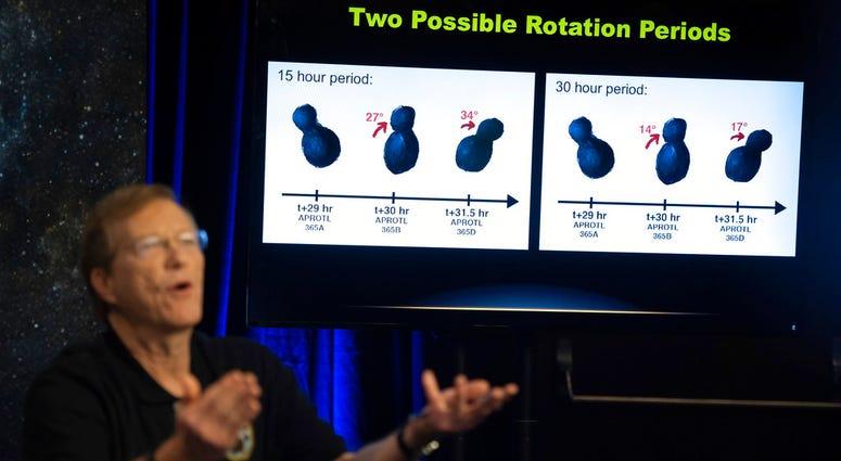 New Horizons project scientist Hal Weaver