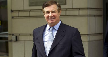 FILE - In this May 23, 2018, file photo, Paul Manafort, President Donald Trump's former campaign chairman, leaves the Federal District Court after a hearing in Washington.